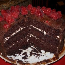 Perfect Chocolate Cake with Perfect Chocolate Frosting