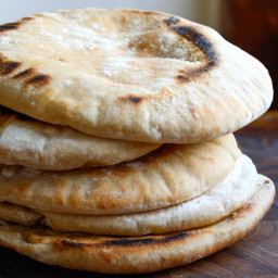 Perfect Homemade Pita Bread