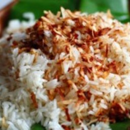 Perfectly Cooked Coconut Jasmine Rice without a Rice Cooker
