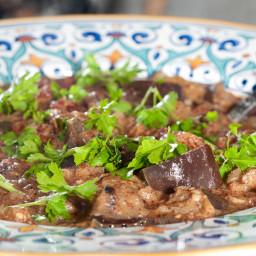 Persian-Italian Eggplant Stew