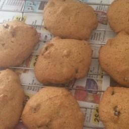 Persimmon Raisin Cookies