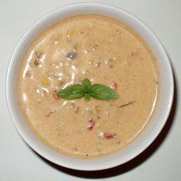 Peruvian Cream of Chicken Soup