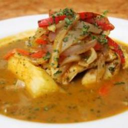 Pescado Sudado (Peruvian Steamed Fish Fillets)