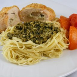 Pesto and Ricotta Stuffed Chicken