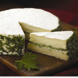 Pesto Filled Brie
