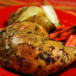 Pesto Roast Chicken