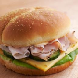 Pick-a-Pepper Turkey Sandwich