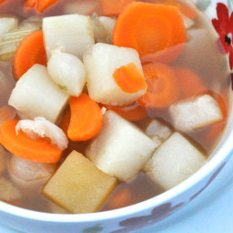 Pickled Onion and Celery Soup