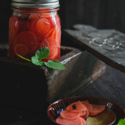 Pickled Radishes Recipe