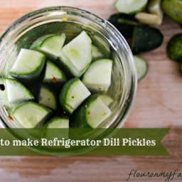 Pickles   How to Make Refrigerator Garlic Dill Pickles