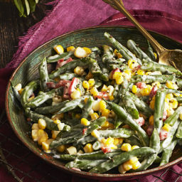 Pimiento-Cheese Green Beans