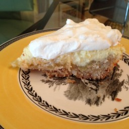 Pina Colada Icebox Pie