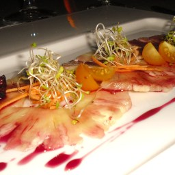 Pineapple Carpaccio Salad