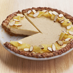 Pineapple-Carrot Cake Pie