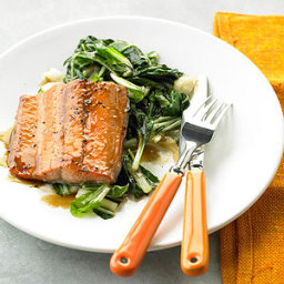 Pineapple-Glazed Salmon