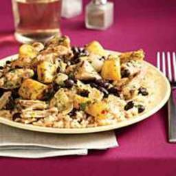 Pineapple Jerk Chicken and Rice
