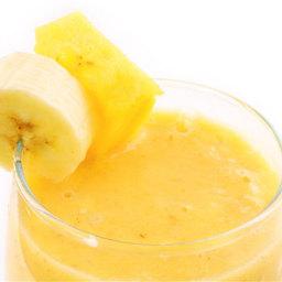 Pineapple, Orange & Banana Smoothie