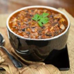 Plant-based Black Bean Chili