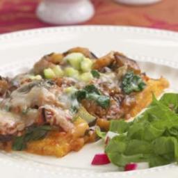 Polenta and Vegetable Bake