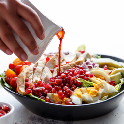 Pomegranate Cobb Salad