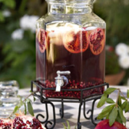Pomegranate Iced Tea