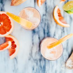 Pomelo Chili Paloma Cocktails