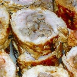 Pork and Kielbasa Rollups