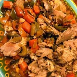 Pork and Veggies - Crock Pot