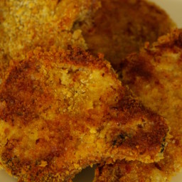 Panko pork chops