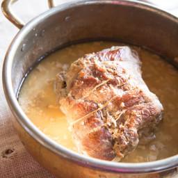 Pork Shoulder Braised in Milk (Maiale al Latte)