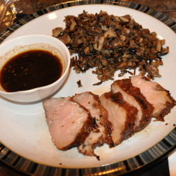 Pork Tenderloin - Soy Balsamic Marinade and Sauce