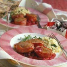 Pork Tenderloin with Cherry Marmalade