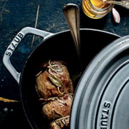 Pork Tenderloin with Sage, Garlic and Honey