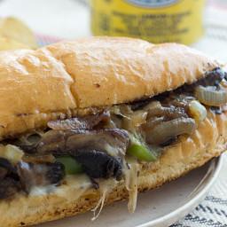 Portabella Mushroom Cheesesteaks