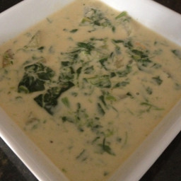 Potato and Spinach Soup