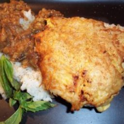 Potato Crusted Breast of Chicken