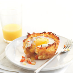 Potato Omelet Cups
