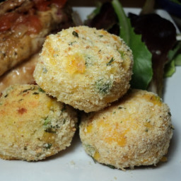 Potato Rice Balls