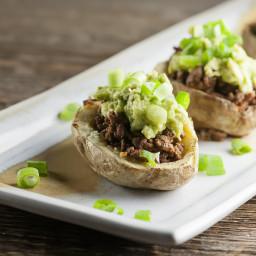 Potato Skin Tacos