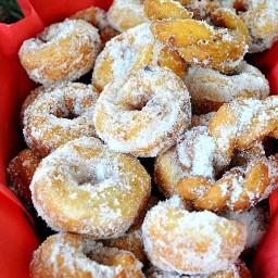 Potato Zeppole {doughnut}