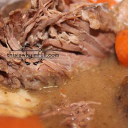 Pot Roast and Carrots