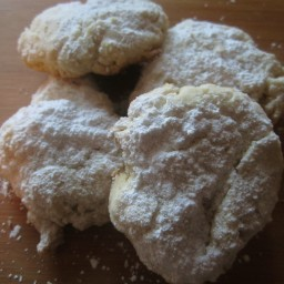 Powdered Lemon Cookies
