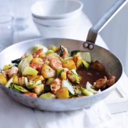 Prawn and Pineapple stirfry