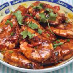 Prawns al Chorizo