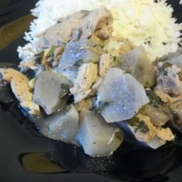 Pressure Cooker Chicken with White Wine
