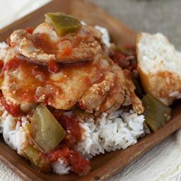 Pressure Cooker Simple Chicken Cacciatore