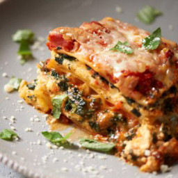 Pressure Cooker Spinach Lasagna