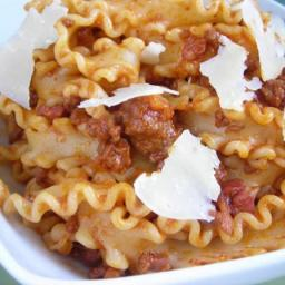 Pressure Cooker Bolognese Ragu Pasta Sauce