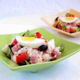Pressure Cooker Italian Rice Salad (Insalata di Riso)