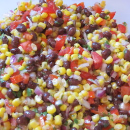 Presto Black Bean and Corn Salsa